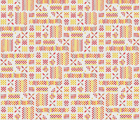 PlaitedPaper_ohneLinien fabric by annosch on Spoonflower - custom fabric