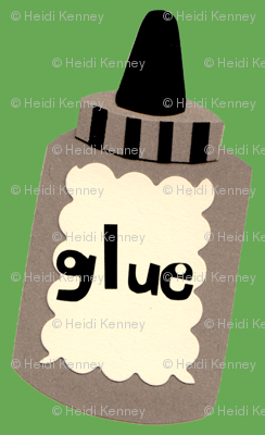 bottle of glue