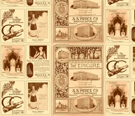 SS Pierce Catalog fabric by paulamarie on Spoonflower - custom fabric