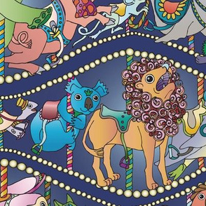 The Magic Moonlight Carousel