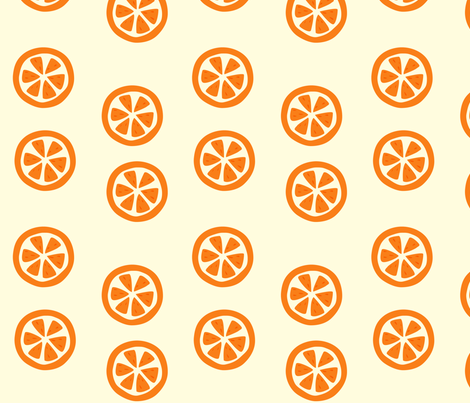 orange_slices fabric by featheredneststudio on Spoonflower - custom fabric