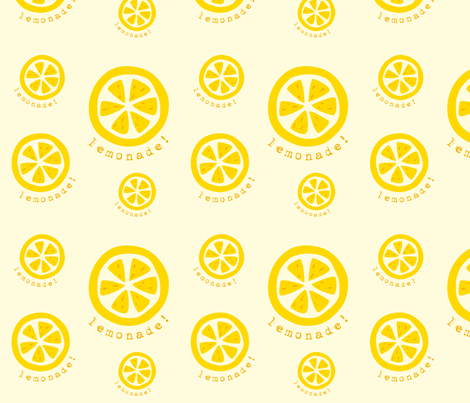 lemonade_slice fabric by featheredneststudio on Spoonflower - custom fabric