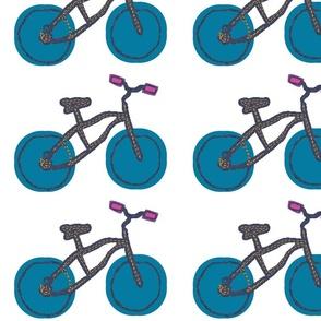 Roll With It! Blue Bike
