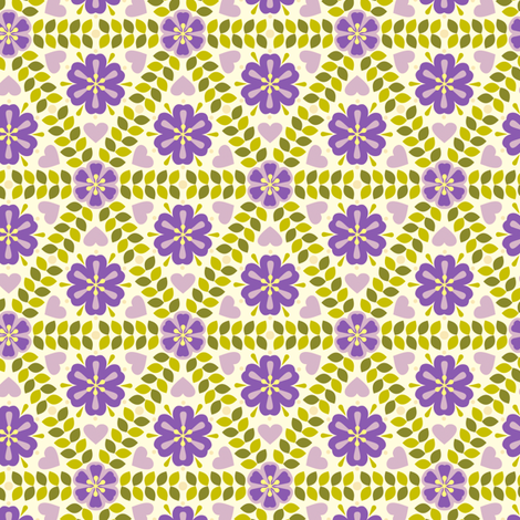 Hildur B fabric by helena on Spoonflower - custom fabric