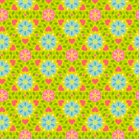 Hildur A fabric by helena on Spoonflower - custom fabric