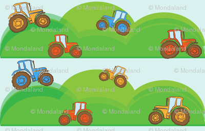 Hill Tractors