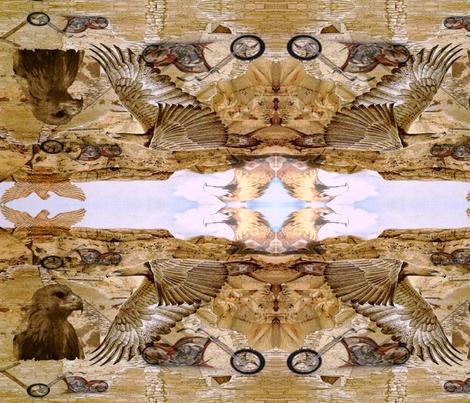 EagleRide fabric by charldia on Spoonflower - custom fabric
