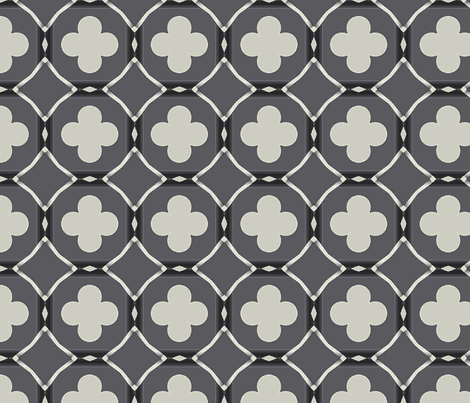 Clubs And Diamonds fabric by fit2betied on Spoonflower - custom fabric