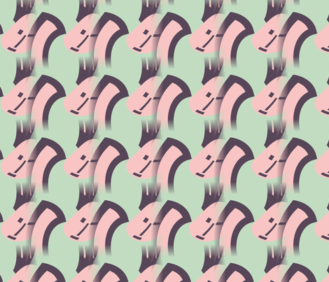 Toupee fabric by fit2betied on Spoonflower - custom fabric