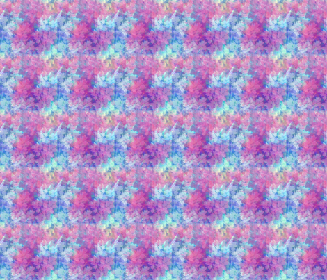 Pink_and_Blue_Leaf fabric by snooky on Spoonflower - custom fabric