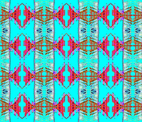 Fantasy Fringe Kapow! fabric by robin_rice on Spoonflower - custom fabric