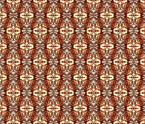 Abstract in Earth Tones fabric by robin_rice on Spoonflower - custom fabric