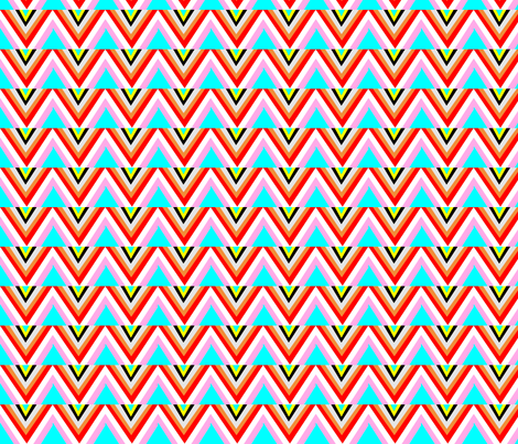 NATIVE LINES BY DOMINATIVEINC-ed fabric by dominativeinc on Spoonflower - custom fabric