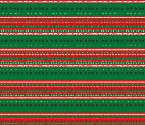 Christmas_Stripe fabric by snooky on Spoonflower - custom fabric