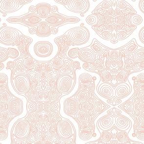 Swirls - pink