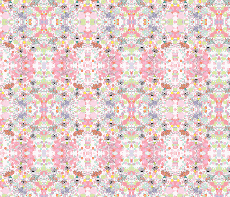 ballet dancers kaleidoscope 2 fabric by dragonflyfae on Spoonflower - custom fabric