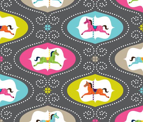 Merry Go Round fabric by zesti on Spoonflower - custom fabric