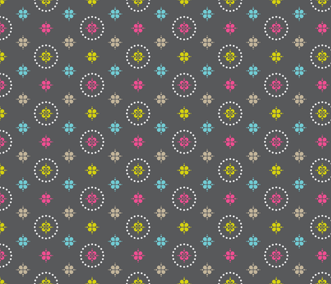 Merry Circles fabric by zesti on Spoonflower - custom fabric