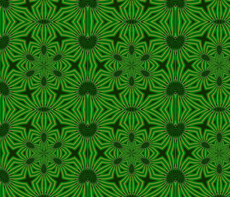 Spider Plant fabric by fit2betied on Spoonflower - custom fabric