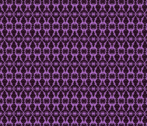 damask-in-purple-design-31000 fabric by eskimokissez on Spoonflower - custom fabric