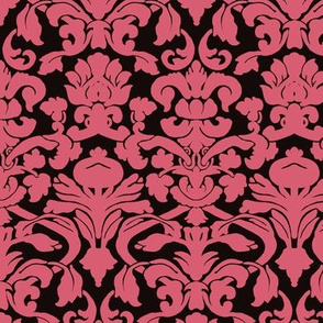Light Pink Damask