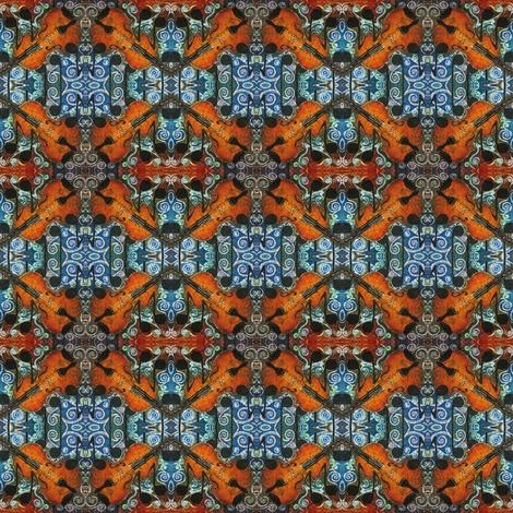 FIDDLE 1 by SUE DUDA fabric by suedudadesigns on Spoonflower - custom fabric