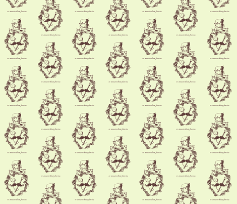 ex_moustachium_fancius fabric by crowlands on Spoonflower - custom fabric