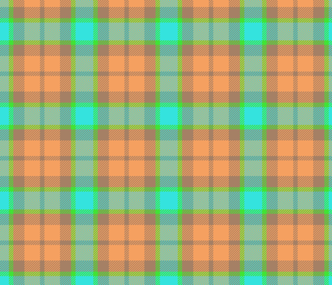 Plaid Sorbet fabric by janelle_wooten on Spoonflower - custom fabric
