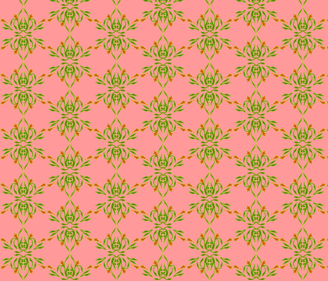 Sherbert Floral fabric by jadegordon on Spoonflower - custom fabric