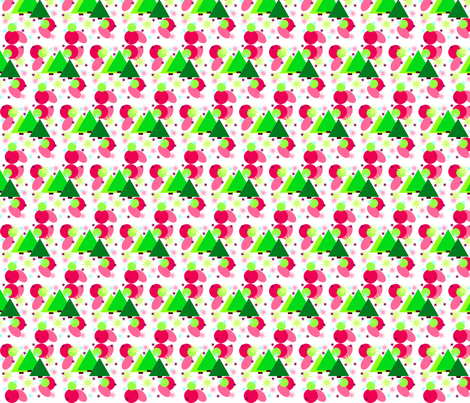 Funky Christmas fabric by hipmama on Spoonflower - custom fabric