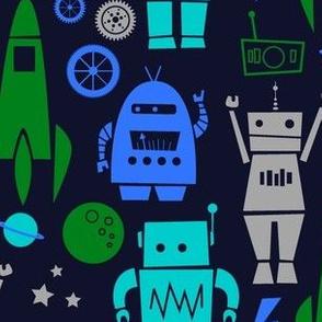 Rockets 'n Robots Navy
