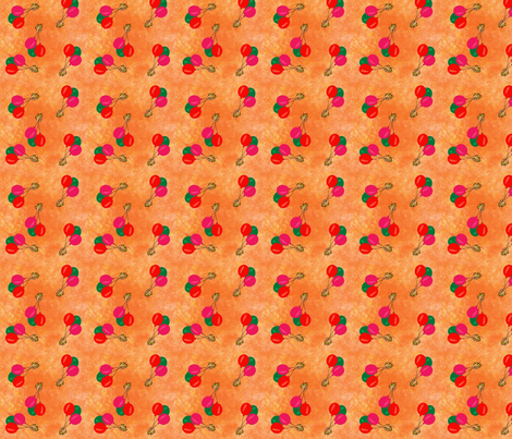 Balloons fabric by snooky on Spoonflower - custom fabric