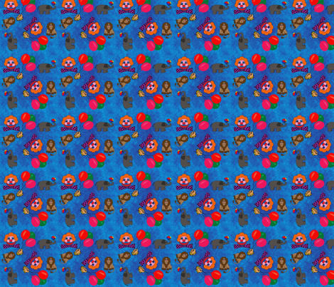 Circus fabric by snooky on Spoonflower - custom fabric