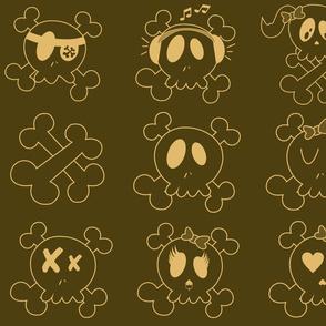 Brown Skulls