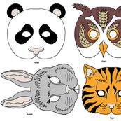 4 Party Animal Masks