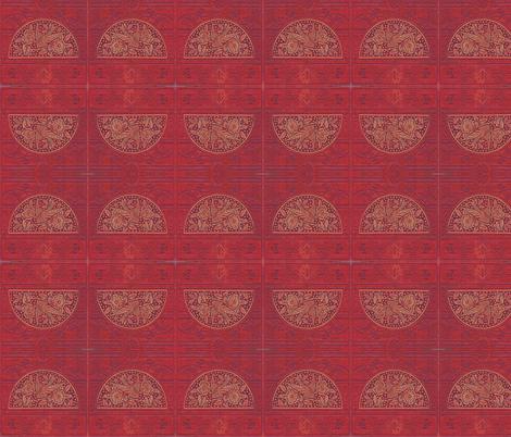 Woodcut fabric by nalo_hopkinson on Spoonflower - custom fabric