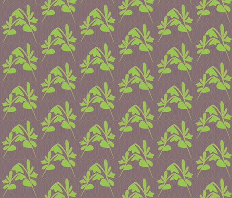 2 leaf ellipse fabric by heatherrothstyle on Spoonflower - custom fabric