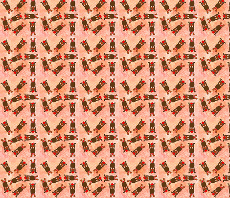 Baby_Rooster_Handstands fabric by snooky on Spoonflower - custom fabric