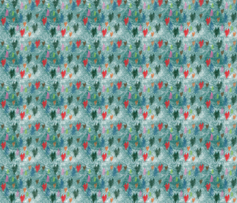 Spring_Fern fabric by snooky on Spoonflower - custom fabric