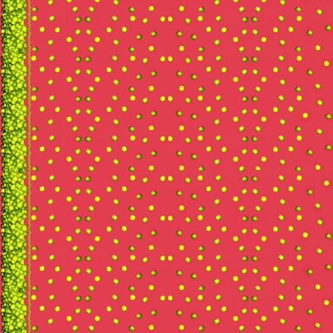 Lime-a-Palooza Border fabric by robin_rice on Spoonflower - custom fabric