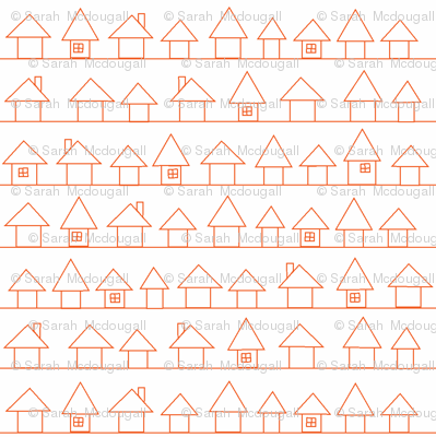Houses in my Neighborhood- Orange