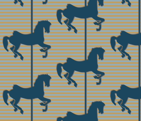 Carousel fabric by ravynka on Spoonflower - custom fabric