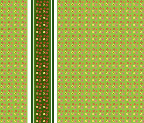 edit_four_zinnia_stripe_border-ch-ch fabric by khowardquilts on Spoonflower - custom fabric