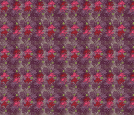 RedandPinkFlower fabric by snooky on Spoonflower - custom fabric