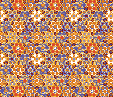 granny tiles fabric by lfntextiles on Spoonflower - custom fabric
