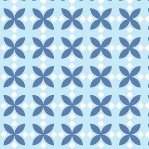 Blue Diamond Flowers