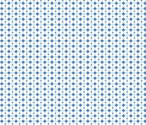 Blue Diamonds fabric by audreyclayton on Spoonflower - custom fabric