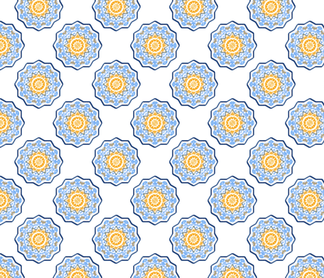 Celestial Carousel fabric by rhondadesigns on Spoonflower - custom fabric