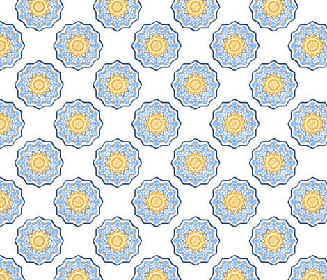 Celestial Carousel fabric by rhondadesigns on Spoonflower - custom fabric