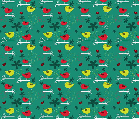 Winter is Near fabric by sbd on Spoonflower - custom fabric